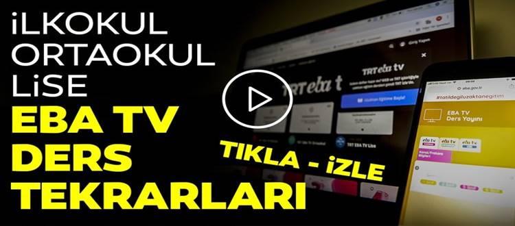 TRT EBA TV EKRAR İZLE