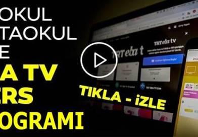 7 Nisan TRT EBA TV Dersleri