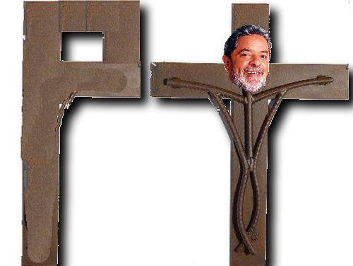 Lula Crucificado em Curitiba<dataavatar hidden data-avatar-url=http://1.gravatar.com/avatar/4384f4262bbe1521c2877dcf9b9b7c50?s=96&d=mm&r=g></dataavatar>