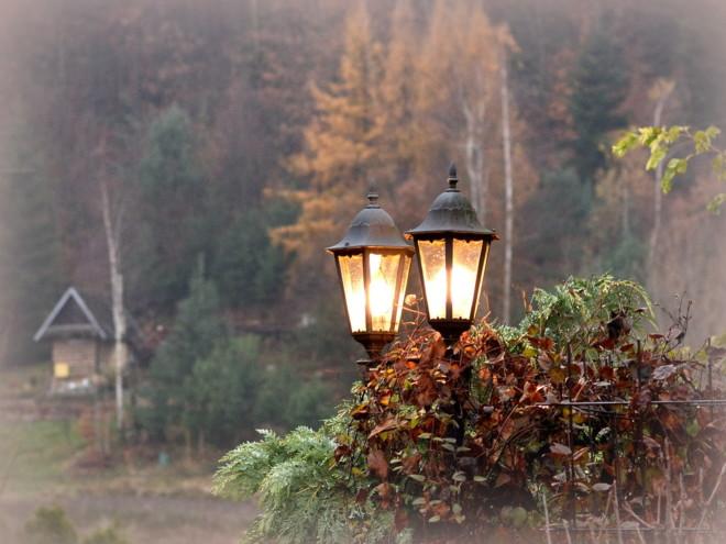 Ogrodowe latarnie