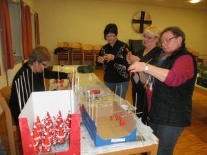 Adventsbasteln Erwachsene 2013