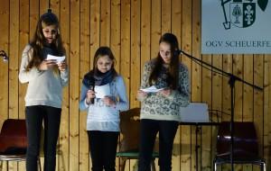 Moderatorinnen Adventsfeier 2015