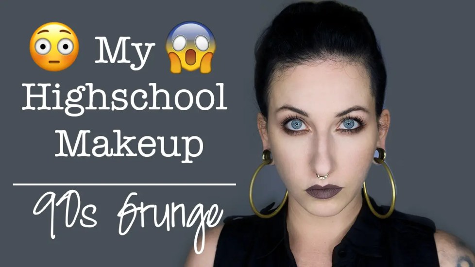 My Highschool Makeup Routine