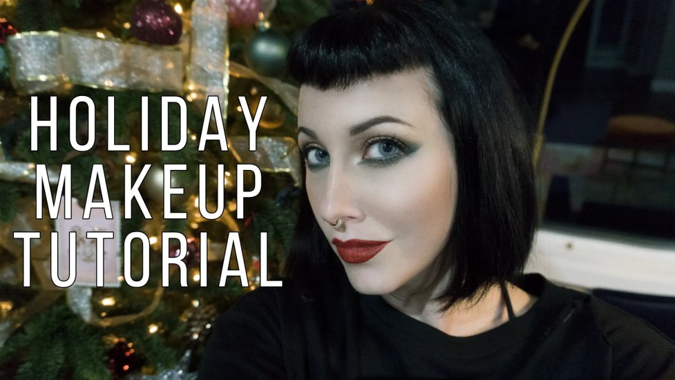 Holiday Makeup Tutorial