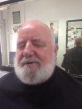 Ohair Barber Nundah - Beard cut with customer (1)