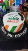 Ohair Barber Nundah - Happy 3rd Birthday - Birthday Cake