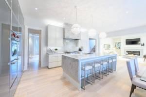 Luxury kitchen details