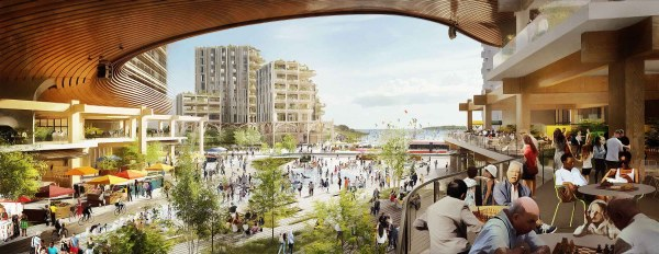 Homes of the future by Sidewalk Labs