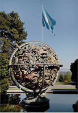 Sphere at the Palais des Nations in Geneva