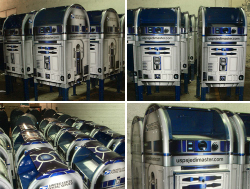 R2-D2 American style post boxes
