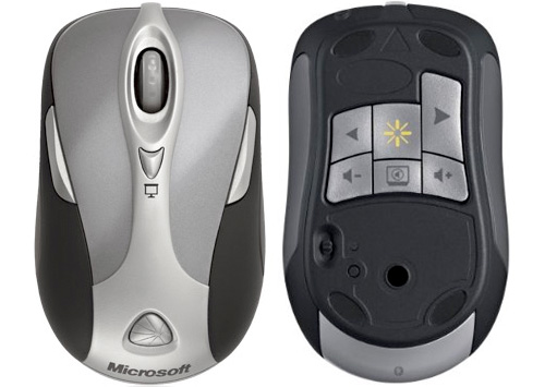 Microsoft Wireless Notebook Presenter Mouse 8000 (Images courtesy  Microsoft)