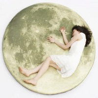 Cool Find: Full Moon Floor Pillow