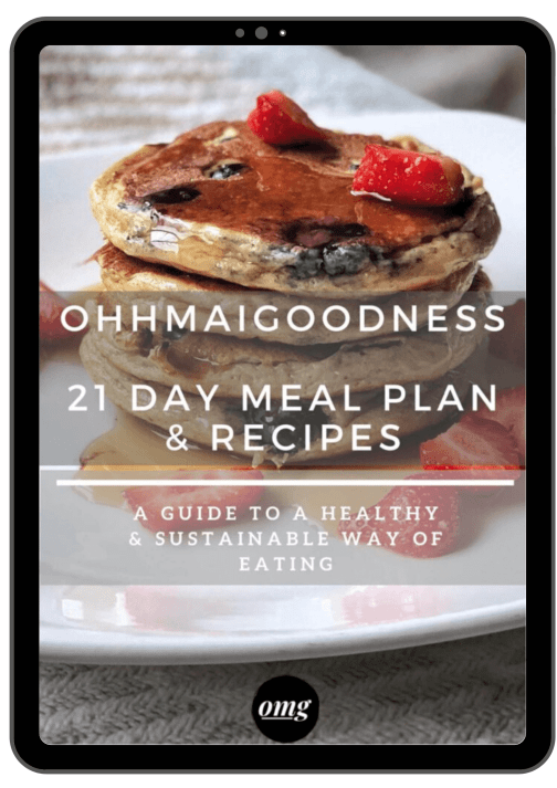 21 day meal plan recipe ebook ohhmaigoodness