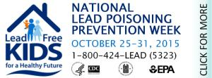 National Lead Poisoning Prevention