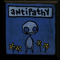 Vocab Series: Antipathy on wooden plaque