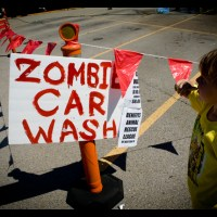 Zombie Car Wash!