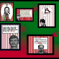 Serial Killer Christmas Card Giveaway!