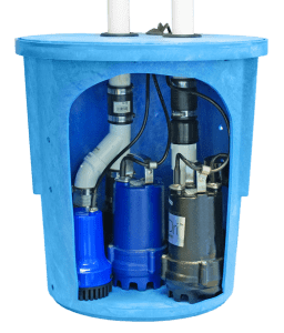 SafeDri UltriPro Triple Sump Pump System
