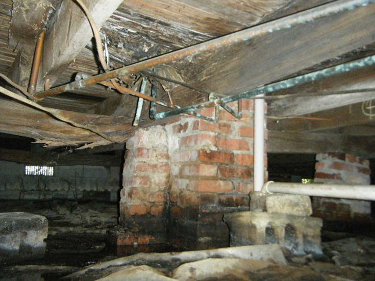 keep your crawl space clean