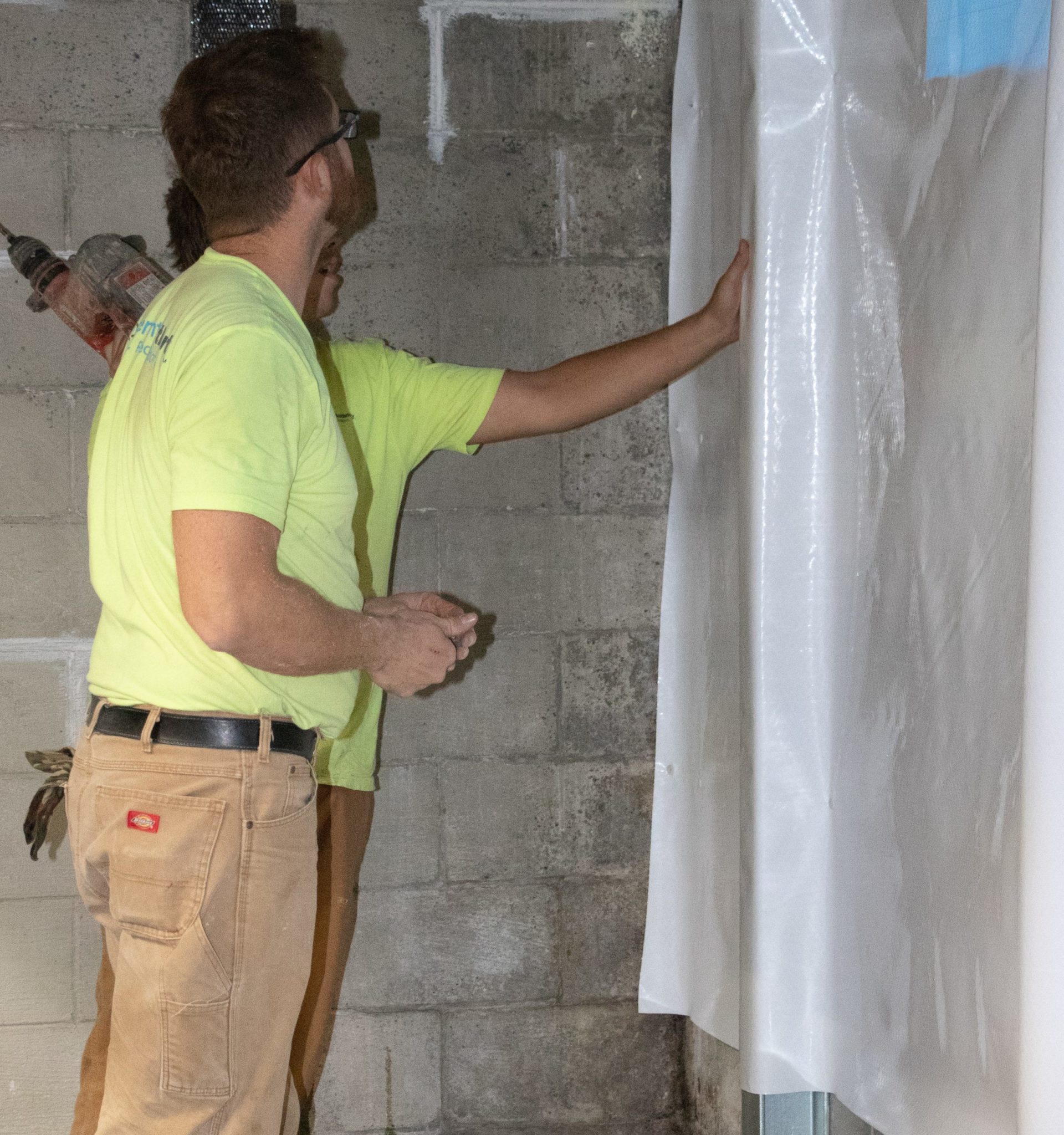 installing waterproofing solutions for basement protection