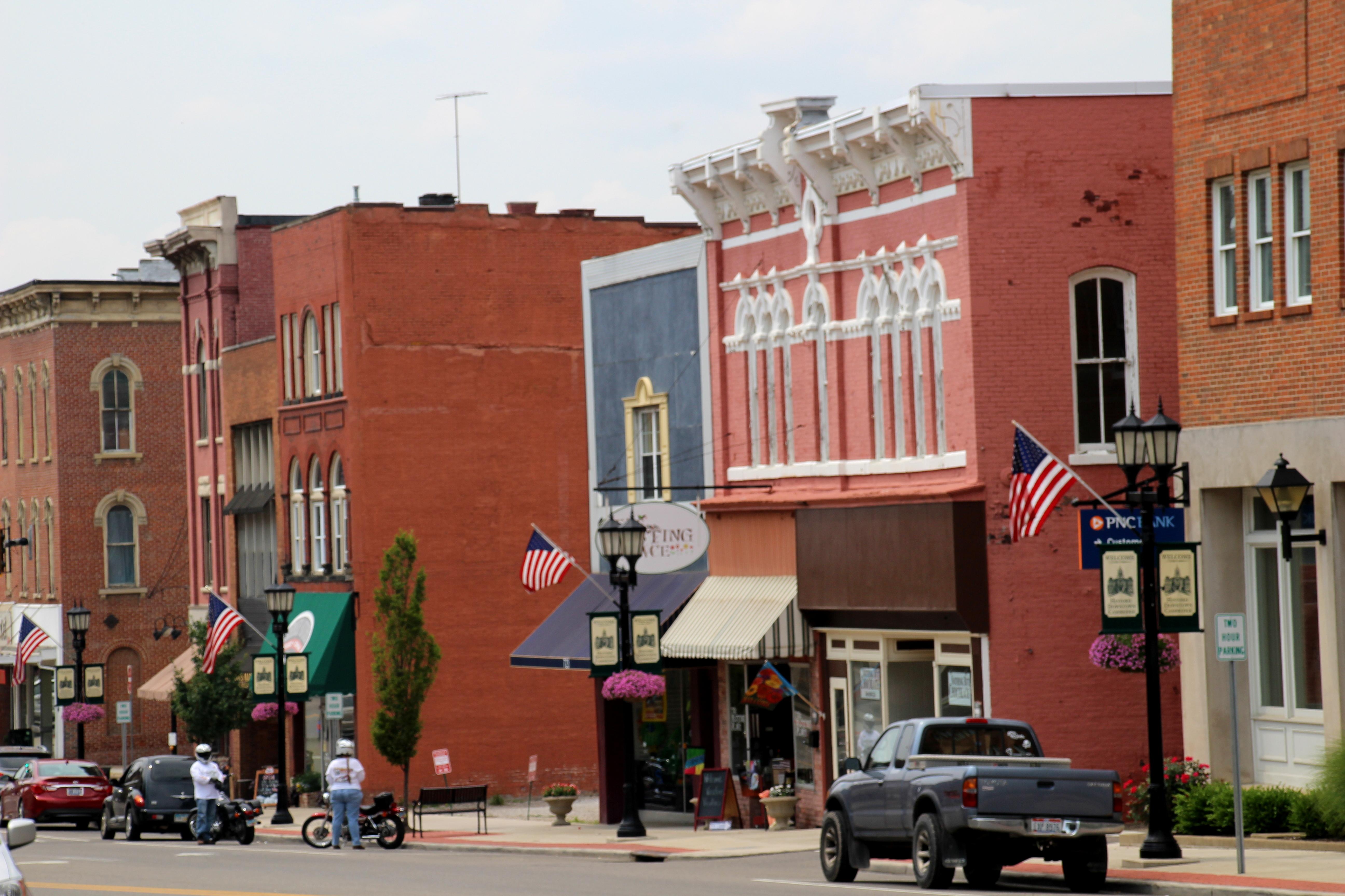 Historic Downtown Cambridge | Ohio Girl Travels