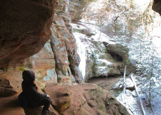 Rock House in Hocking Hills, Ohio