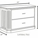 Fifth Avenue 2 Drawer Lateral File Cabinet And Hutch Ohio