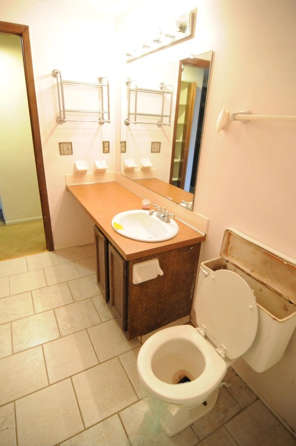 Dated bathroom will get complete overhaul - everything new is coming.