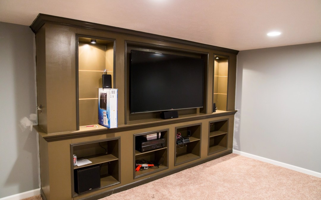 Before/After – Basement Remodel