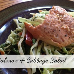 Day 4:: Salmon & Cabbage Salad