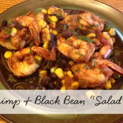 "Day 18:: Shrimp & Black Bean ""Salad"""