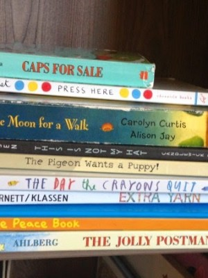 What Abram's Reading Now (Or Having Read to Him)