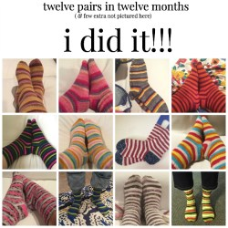 A Year of Socks