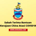 Covid-19 : Sabah Terima Bantuan Kerajaan China