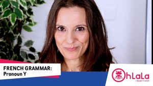 Learn French Pronoun Y