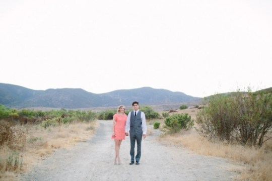 vintage inspired engagement | mozi photography