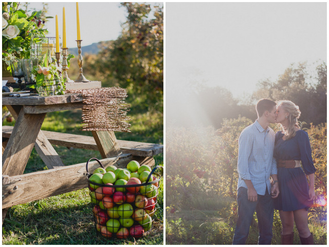 orchard engagement | sweet poppy studios