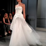 wedding dresses by monique lhullier spring 2014 collection with peplum