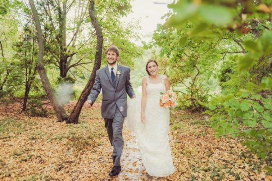 autumn dreamy garden wedding by soda fountain photography