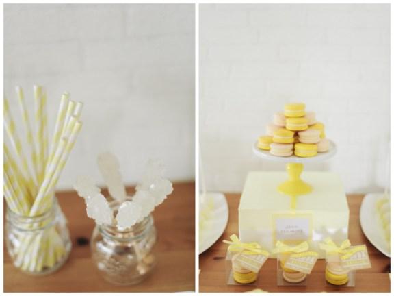 Lemon Yellow Bridal Shower Inspiration | Simply Peachy & Isa Photography