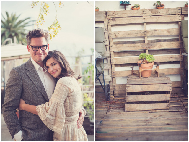 bohemian chic engagement session | Sun and Sparrow Photography on ohlovelyday.com