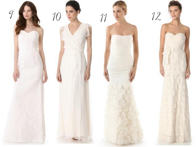 Wedding Dresses Galore 25 Marvelous  wedding dresses under