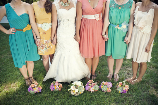 Top Weddings of 2013 on Oh Lovely Day | DIY Carnival Wedding from Jennie Andrews Photography