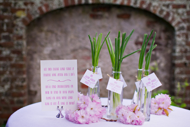 Sustainable & Eco-Friendly Spring Inspiration | Amy Chamgagne Events & Ashley Therese Photography / Paper goods by Roseville Designs / Florals by Fleurescent / Cakes by Erica O'Brien Cakes /