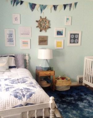 Nursery Peek and a Lulu & Georgia Giveaway | Oh Lovely Day