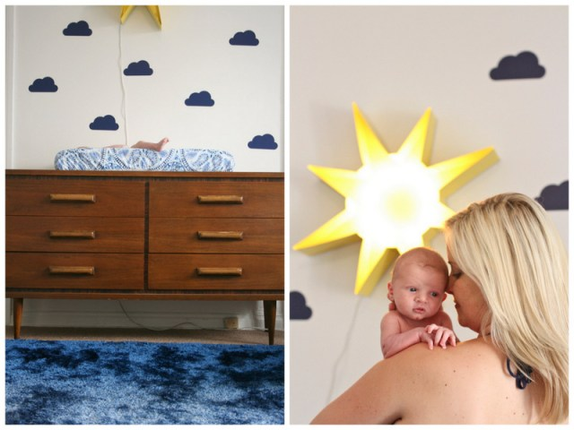 Calvin's California-Inspired Indigo Nursery | designed by Oh Lovely Day