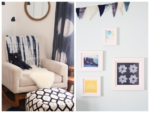 Calvin's California-Inspired Indigo Nursery | designed by Oh Lovely Day