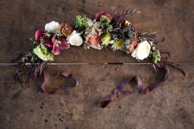 Valentine's Day Floral Crown Tutorial | by Taylor + Taylor on Oh Lovely Day