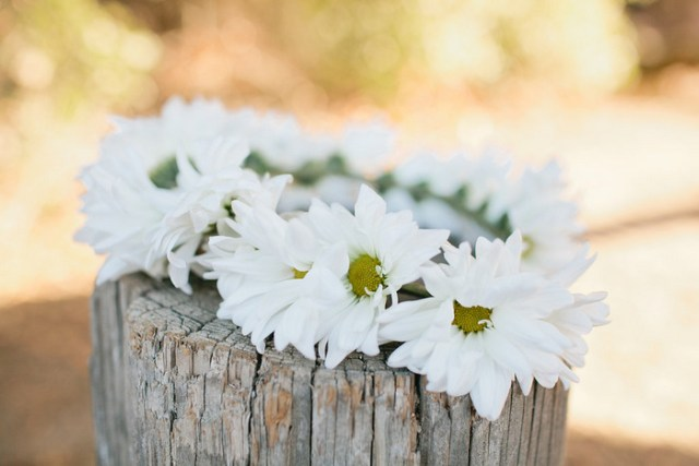 Daisy Chain Floral Crown | MV Florals & Megan Welker | Oh Lovely Day