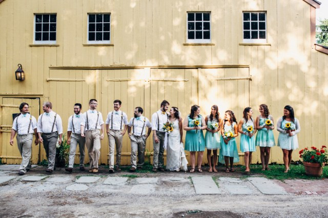 DIY Farm Wedding | We are the Kerns on Oh Lovely Day